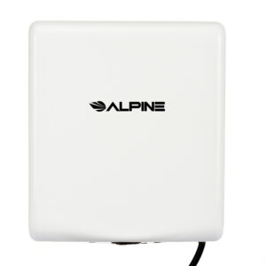 ALPINE WILLOW HIGH SPEED COMMERCIAL HAND DRYER, 220V, WHITE