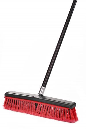 2-IN-1 18″ SMOOTH SURFACE SQUEEGEE PUSH BROOM