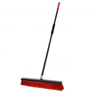 2-IN-1 24″ SMOOTH SURFACE SQUEEGEE PUSH BROOM