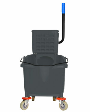 ALPINE INDUSTRIES 36 QT MOP BUCKET WITH SIDE WRINGER, GRAY