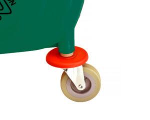 ALPINE INDUSTRIES 36 QT MOP BUCKET WITH SIDE WRINGER, GREEN