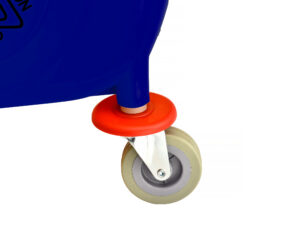 ALPINE INDUSTRIES 36 QT MOP BUCKET WITH SIDE WRINGER, BLUE