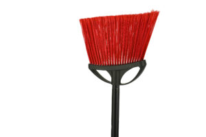 10-INCH SMOOTH SURFACE ANGLE BROOM, PACK OF 3