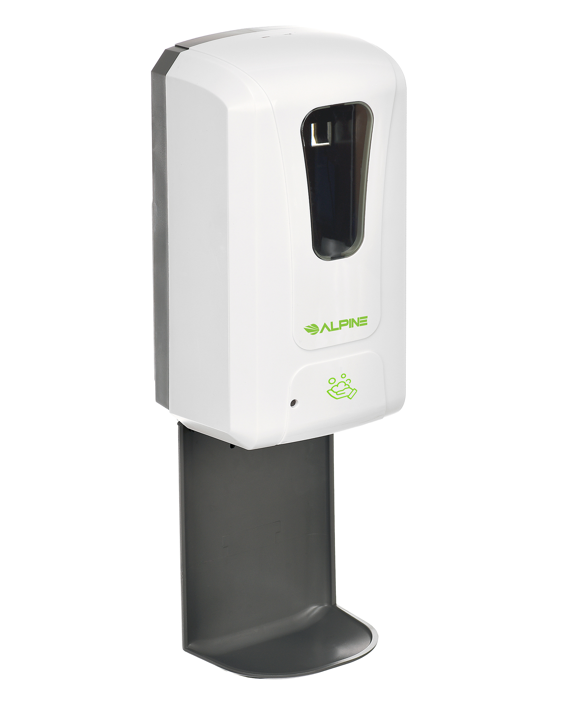AUTOMATIC HANDS-FREE FOAM HAND SANITIZER/SOAP DISPENSER, 1200 ML, WHITE