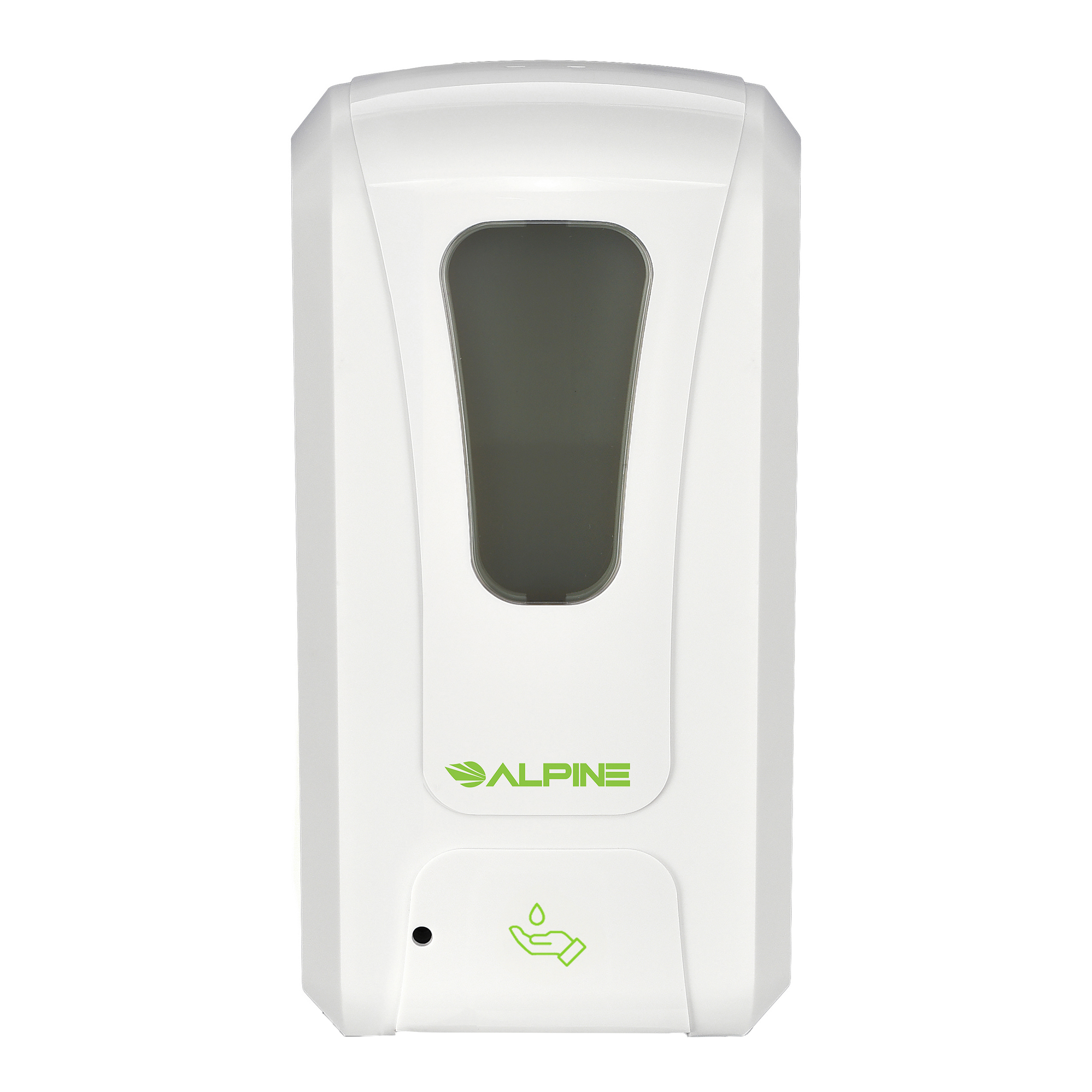 AUTOMATIC HANDS-FREE LIQUID/GEL HAND SANITIZER/SOAP DISPENSER, 1200 ML, WHITE