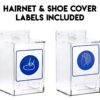 WALL-MOUNTABLE HAIRNET AND SHOE COVER DISPENSER