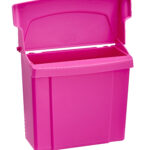 ALPINE INDUSTRIES 451-PNK SANITARY NAPKIN RECEPTACLE, PINK