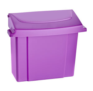 ALPINE INDUSTRIES 451-PUR SANITARY NAPKIN RECEPTACLE, PURPLE