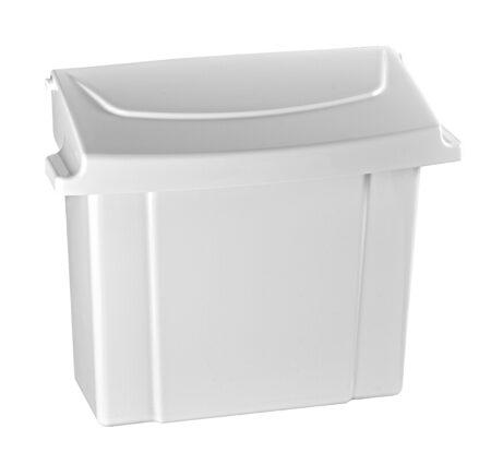 Alpine Industries 451-WHI Sanitary Napkin Receptacle, White