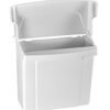 ALPINE INDUSTRIES 451-WHI SANITARY NAPKIN RECEPTACLE, WHITE