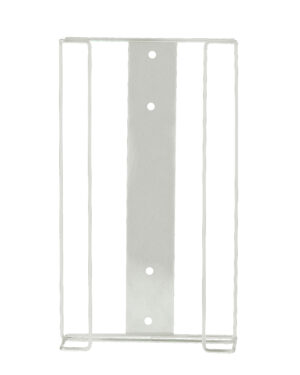 Box holder can hold four glove boxes Mounting holes for easy installation Made from durable metal material, making it both strong and sleek Perfect asset to your washroom, kitchen or office