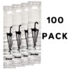 ALPINE INDUSTRIES WET UMBRELLA BAGS 100 PACK