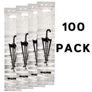 ALPINE INDUSTRIES WET UMBRELLA BAGS 100 PACK