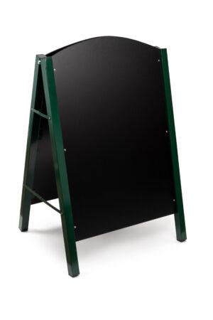 Alpine Industries A-Frame Floor Standing Marker Board Sign, Green