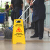 Alpine Industries 24 Caution Wet Floor Sign , Pack of 3