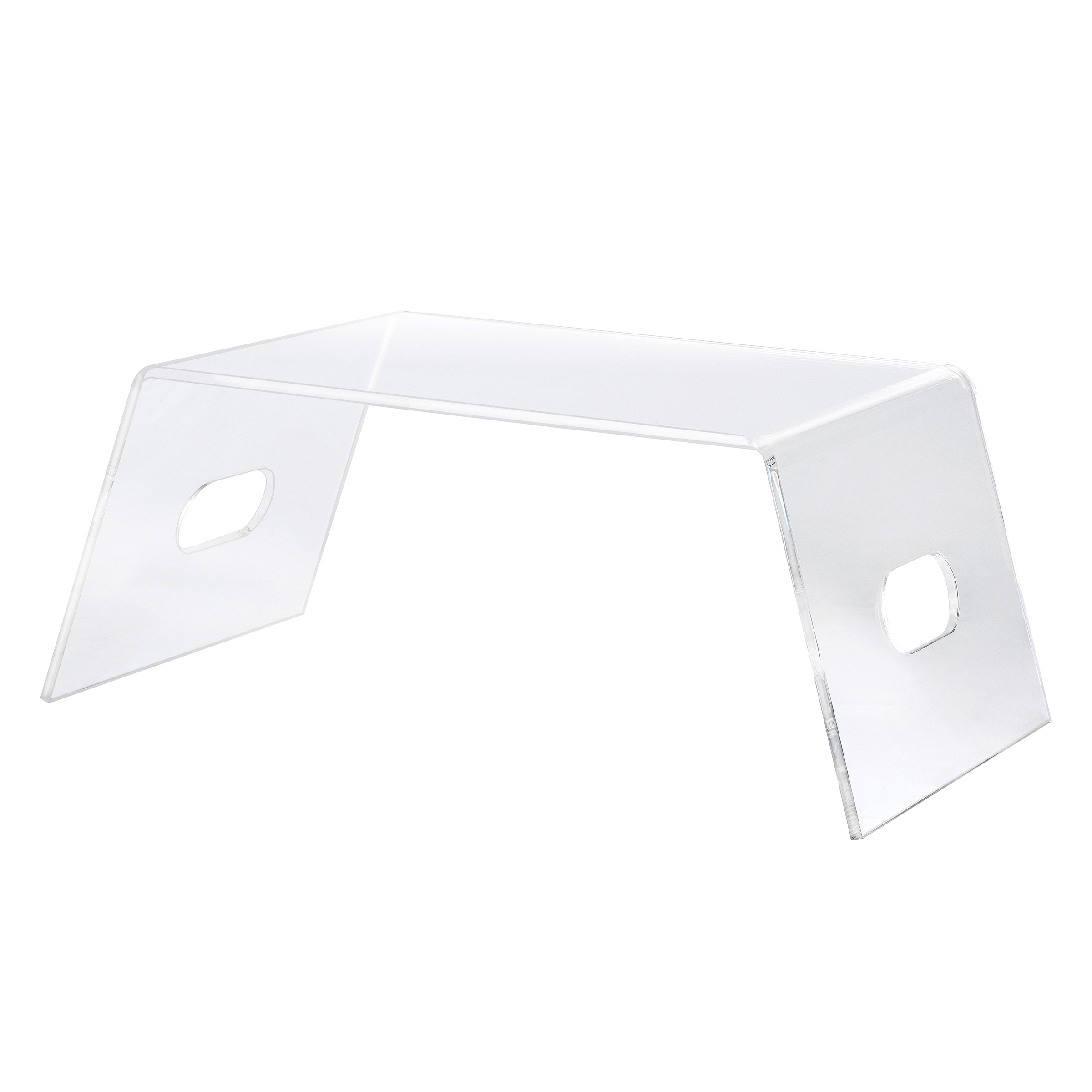CLEAR ACRYLIC LAPTOP AND MONITOR STAND