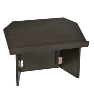 Black Foldable Tabletop Lectern