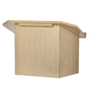 Medium Oak Foldable Tabletop Lectern