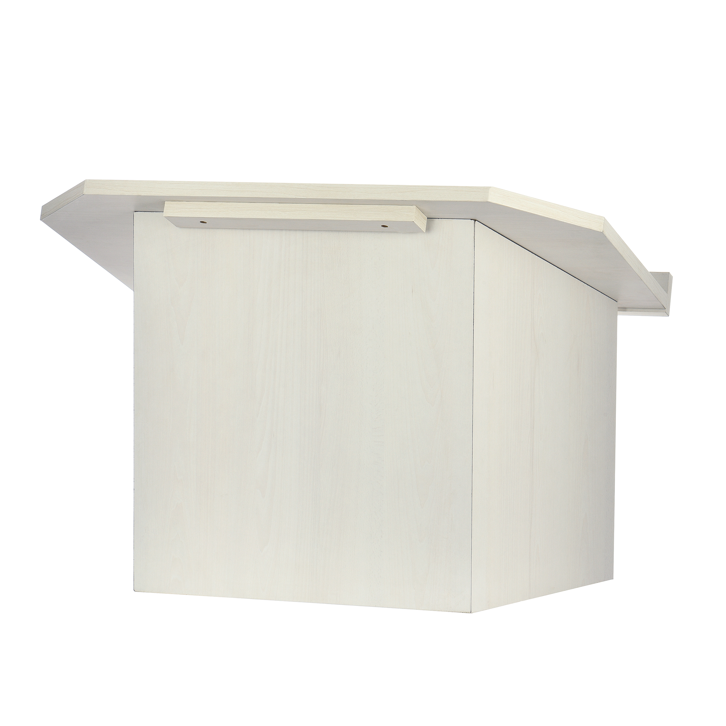 White Foldable Tabletop Lectern