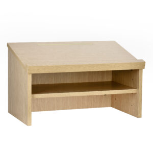 Medium Oak Tabletop Lectern