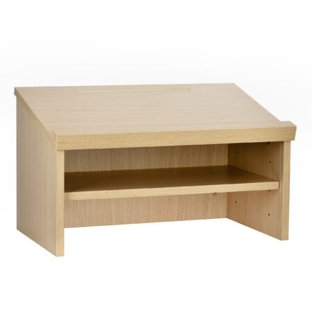 Medium Oak Tabletop Lectern
