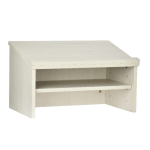 White Tabletop Lectern