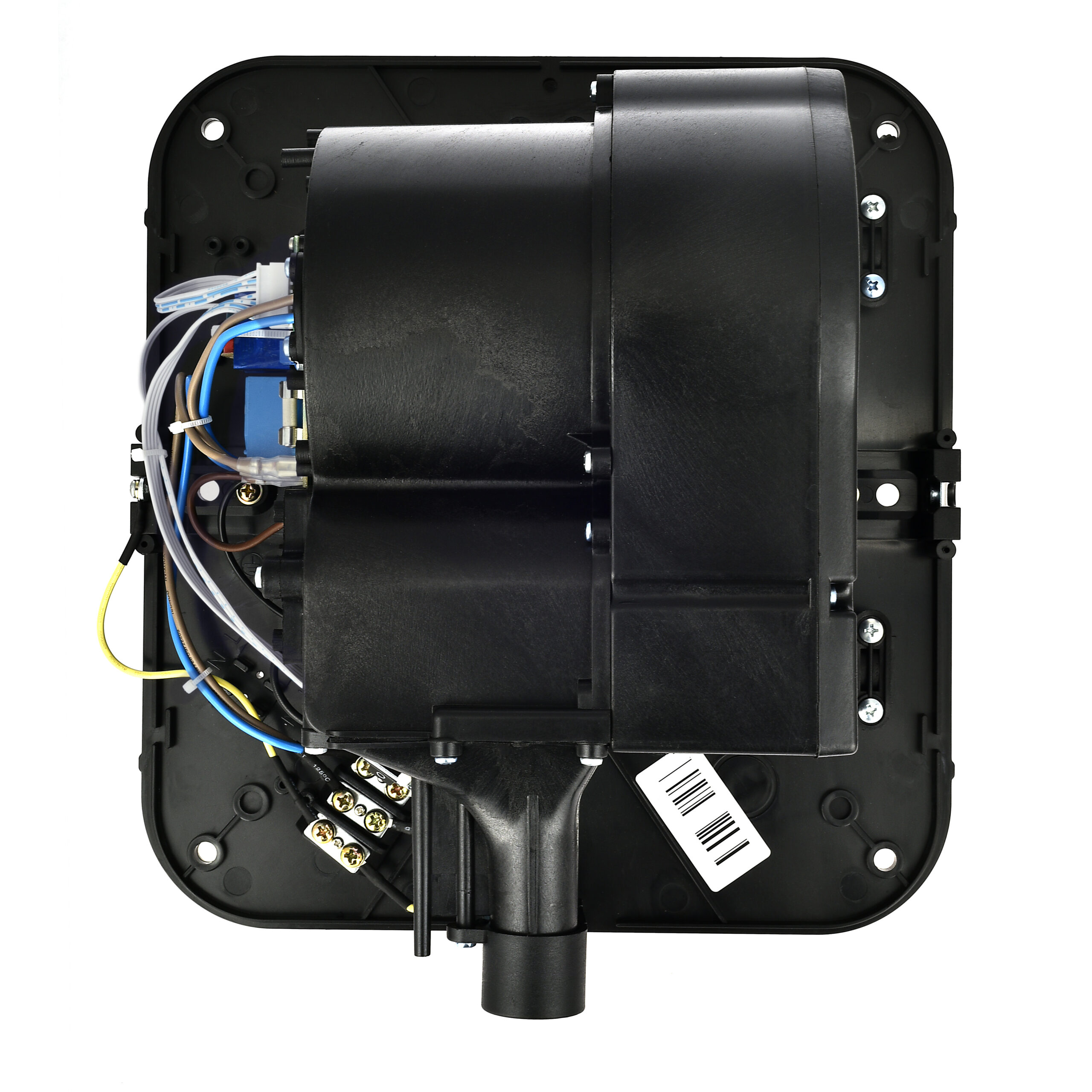 Alpine Industries Hemlock Hand Dryer Base, Black, 110/120V
