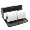 ALPINE INDUSTRIES ALP452-GRY SIDE-BY-SIDE DOUBLE ROLL TOILET TISSUE DISPENSER, GRAY