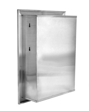 C Fold or Multifold Recessed Paper Towel Dispenser