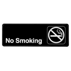 Alpine Industries No Smoking Sign, 3x9