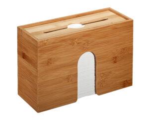 Bamboo Paper Towel Dispenser