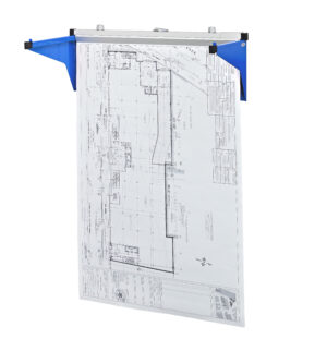 DROP/LIFT WALL RACK FOR BLUEPRINTS