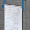 CUBICLE WALL RACK FOR BLUEPRINTS