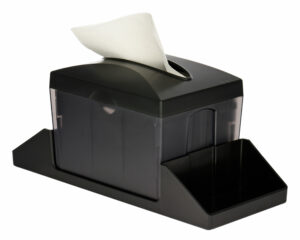 Tabletop Interfold Napkin Dispenser with Caddy