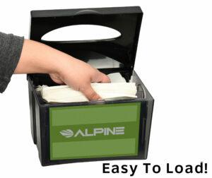 Tabletop Interfold Napkin Dispenser