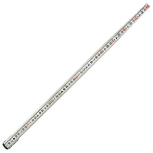 32' OVAL FIBERGLASS LEVELING ROD FT/10THS