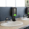 Automatic Hands-Free Liquid/Gel Hand Sanitizer/Soap Dispenser with Floor Stand, 1200 mL, BLACK