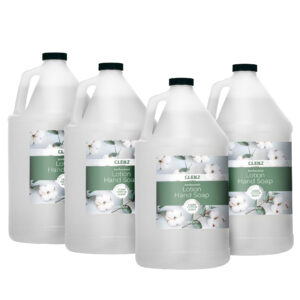 CLENZ - Alpine Industries 1 Gallon/128 oz Antimicrobial Pearlized Lotion Hand Soap- 4/Case