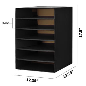 6-Shelf Organzier for Schools and Offices