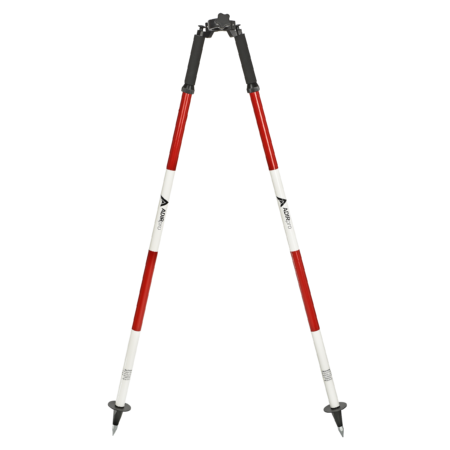 Prism Pole Bipod -Red and White