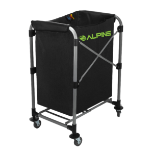 Laundry Cart , 4 Bushel Collapsible Folding Cart