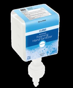 Clenz 430 1200ml Prefill Bottle Unscented Foaming Hand Sanitizer, Case of 4