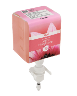 Clenz 430 1200ml Prefill Bottle Fresh Floral Scent Anti-Microbial Liquid Lotion Hand Soap , Case of 4