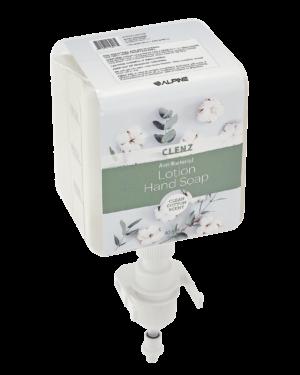 Clenz 430 1200ml Prefill Bottle Clean Cotton Scent Anti-Bacterial Liquid Lotion Hand Soap, Case of 4