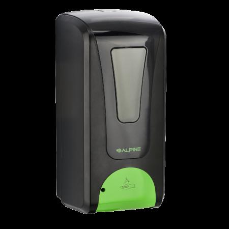 Automatic Hands-Free Liquid/Gel Hand Sanitizer/Soap Dispenser, 1200 ML, BLACK