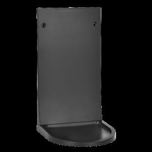 Universal Soap/Sanitizer Dispenser Drip Tray, Black