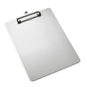 """Aluminum Clipboards Slim Profile 8.5"""" x 11"""""""