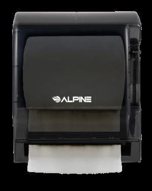 Paper Towel Roll Dispenser, Transparent Black